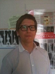 Chiropractor Peter Barnes